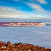Buy canvas prints of Fog In The Bay by Wight Landscapes