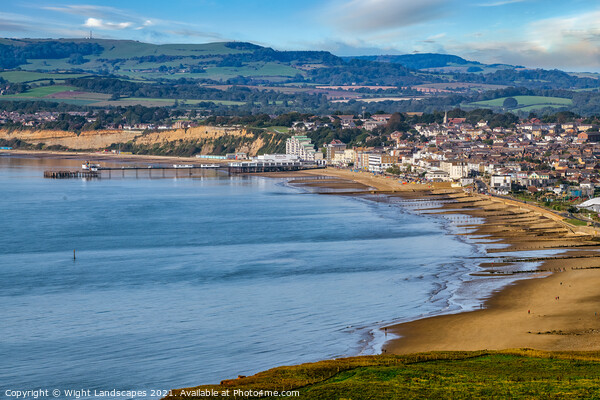 Sandown Isle Of Wight Canvas Print by Wight Landscapes