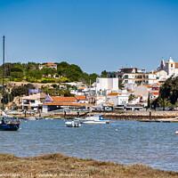 Buy canvas prints of Alvor Town Algarve Portugal by Wight Landscapes