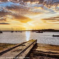 Buy canvas prints of Alvor Sunset by Wight Landscapes