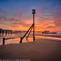 Buy canvas prints of Sandown Pier Isle Of Wight by Wight Landscapes