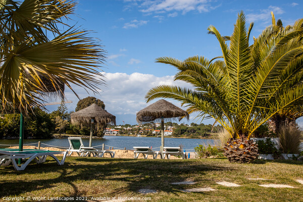 Quinta do Lago Resort Canvas Print by Wight Landscapes