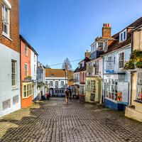Buy canvas prints of The Cobbles Lymington by Wight Landscapes