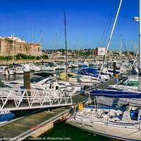 Buy canvas prints of Marine de Cascais by Wight Landscapes