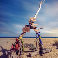 Buy canvas prints of Praia da Ilha Deserta by Wight Landscapes
