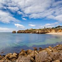 Buy canvas prints of Praia da Batata Lagos Portugal by Wight Landscapes