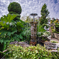 Buy canvas prints of Godshill Fountain by Wight Landscapes
