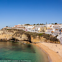 Buy canvas prints of Carvoeiro Algarve Portugal by Wight Landscapes