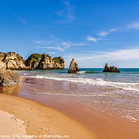Buy canvas prints of Praia de Alvor Algarve Portugal by Wight Landscapes