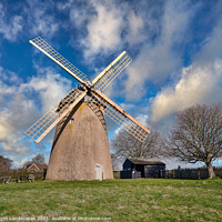 Buy canvas prints of Bembridge Windmill by Wight Landscapes