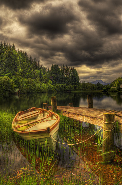 Loch Ard Canvas print by Don Alexander Lumsden