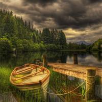 Buy canvas prints of Loch Ard by Don Alexander Lumsden