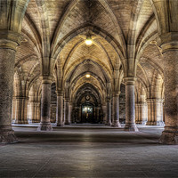 Buy canvas prints of Cloisters by Don Alexander Lumsden
