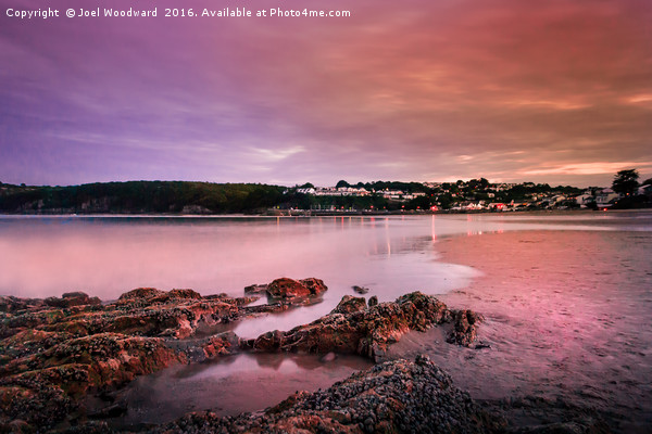 Saundersfoot Bay Canvas print by Joel Woodward