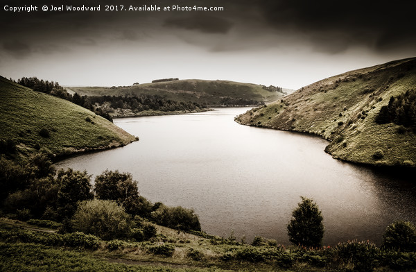 Elan Valley Canvas print by Joel Woodward