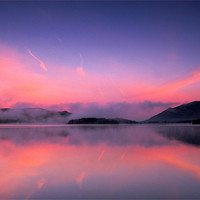 Buy canvas prints of Derwentwater by Dave Hudspeth Landscape Photography