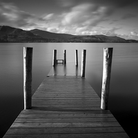 Buy canvas prints of Derwentwater Cumbria by Dave Hudspeth Landscape Photography