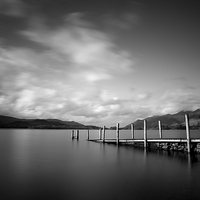 Buy canvas prints of Derwentwater, Cumbria by Dave Hudspeth Landscape Photography