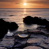 Buy canvas prints of The Giants Causeway by Dave Hudspeth Landscape Photography