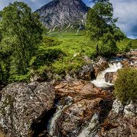 Buy canvas prints of Glen Coe, Scotland by Dave Hudspeth Landscape Photography