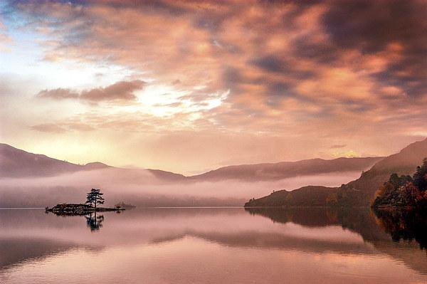 Glenridding Sunrise Canvas print by Dave Hudspeth Landscape Photography