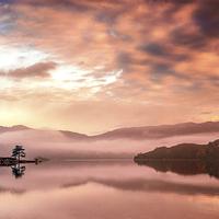 Buy canvas prints of Glenridding Sunrise by Dave Hudspeth Landscape Photography