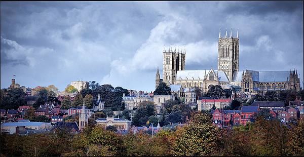 Lincoln Cathedral Canvas print by Jon Fixter