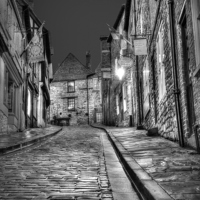 Buy canvas prints of  Steep Hill  by Jon Fixter