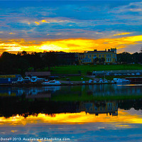 Buy canvas prints of Lough Erne or Loch Erne by Kim McDonell