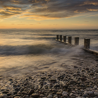 Buy canvas prints of  Chatter Of Pebbles by Mike Custer