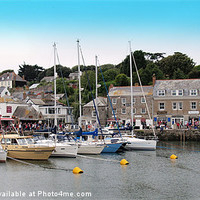 Buy canvas prints of Padstow Harbour by Mike Streeter
