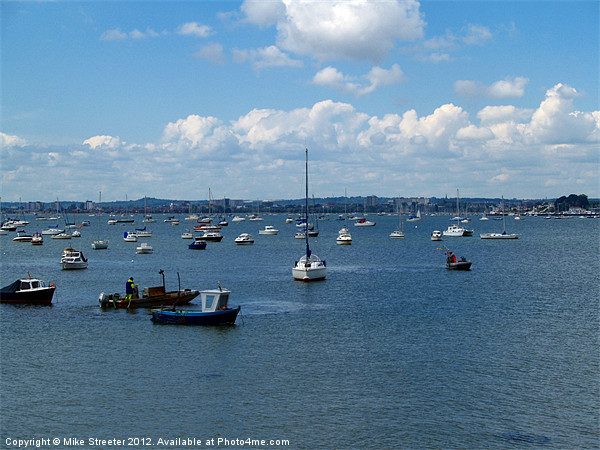 Poole Harbour Canvas print by Mike Streeter