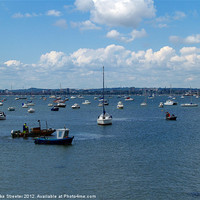 Buy canvas prints of Poole Harbour by Mike Streeter