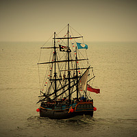 Buy canvas prints of The Endeavour by Marie Castagnoli