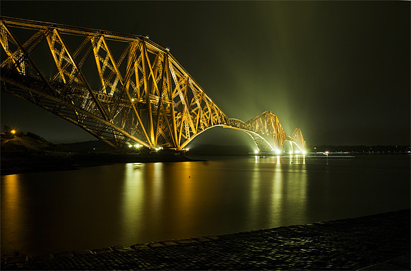 Forth Rail Bridge, Scotland Canvas print by Ian Potter