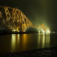 Buy canvas prints of Forth Rail Bridge, Scotland by Ian Potter