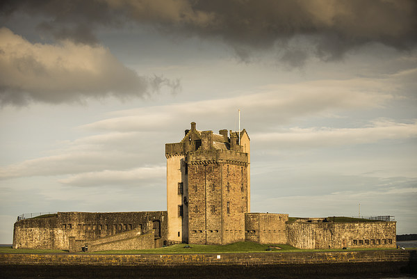 Broughty Castle, Broughty Ferry Canvas print by Ian Potter