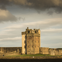 Buy canvas prints of  Broughty Castle, Broughty Ferry by Ian Potter