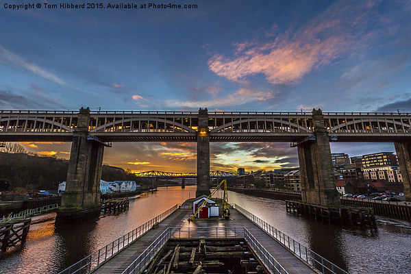 High Level Bridge, Newcastle Upon Tyne Canvas print by Tom Hibberd