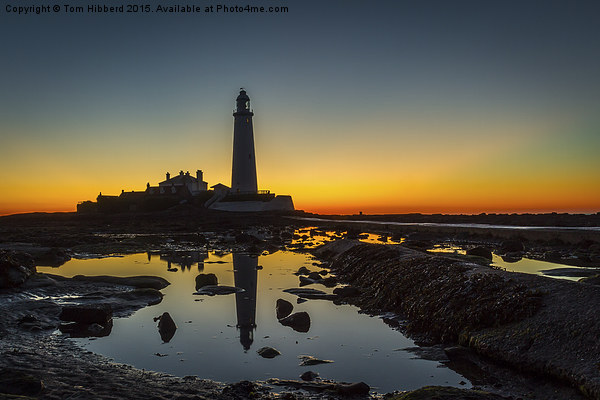Never sleeping St Mary's Lighthouse Canvas print by Tom Hibberd