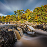 Buy canvas prints of Low Force waterfall, Teesdale by Tom Hibberd
