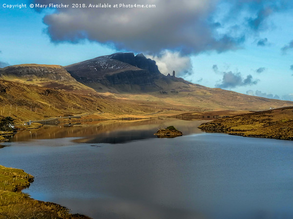 The Old Man of Storr Canvas print by Mary Fletcher