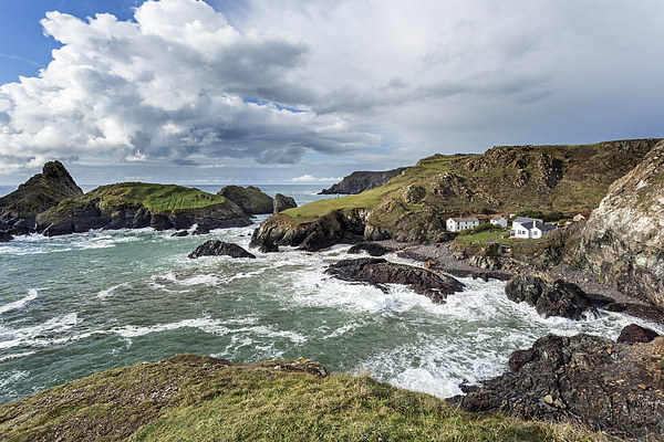 kynance cove Canvas print by Kelvin Rumsby