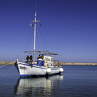 Buy canvas prints of fishing boat by Kelvin Rumsby