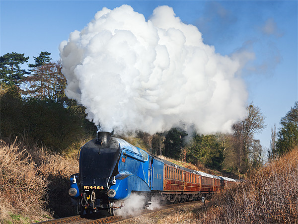 Steam train takes us back to the 1930s Canvas print by Ian Duffield