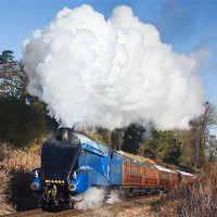Buy canvas prints of Steam train takes us back to the 1930s by Ian Duffield