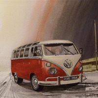 Buy canvas prints of Tangerine Flake Streamline Baby by John Lowerson