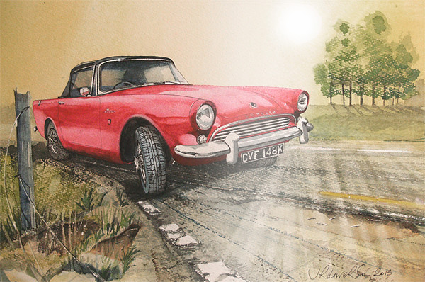 you will look back and see Canvas Print by John Lowerson