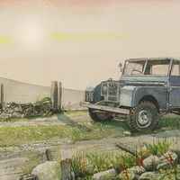 Buy canvas prints of .......and watching the sun falling by John Lowerson