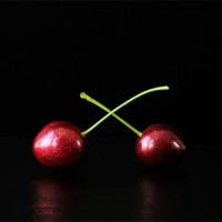 Buy canvas prints of Two Cherries by Alan Harman